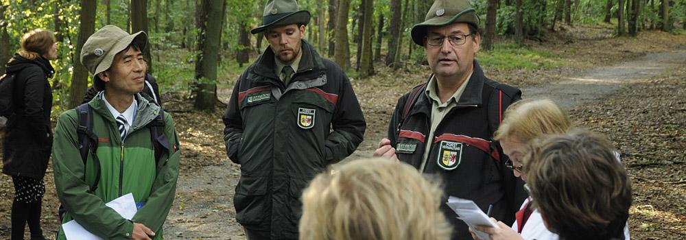 Waldführung auf dem Kongress
